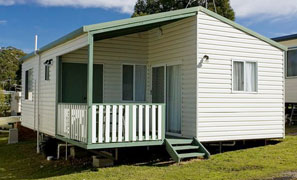 Waterview Standard Cabin Accommodation Joalah Holiday Park